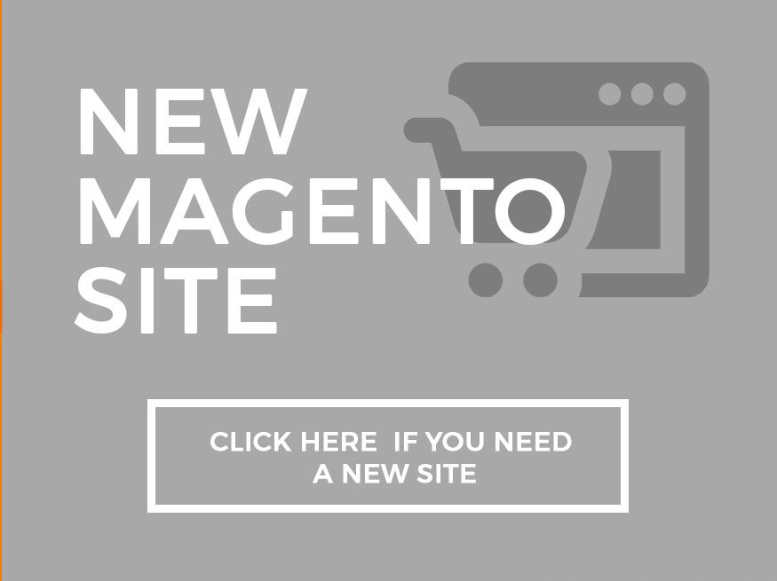 need help with magento website